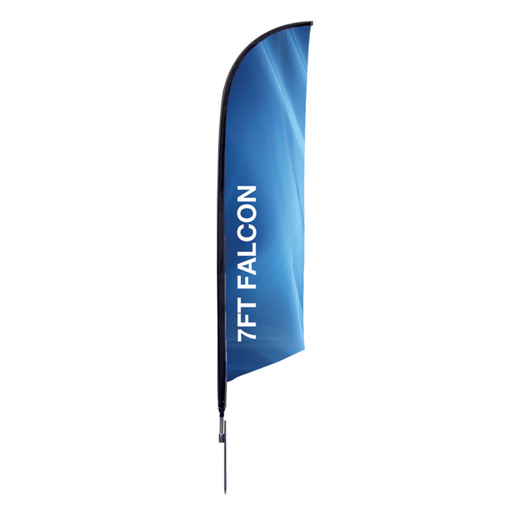 Falcon Flag Single Side Spike Base